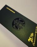 星巴克20周年纪念版金箔星享卡